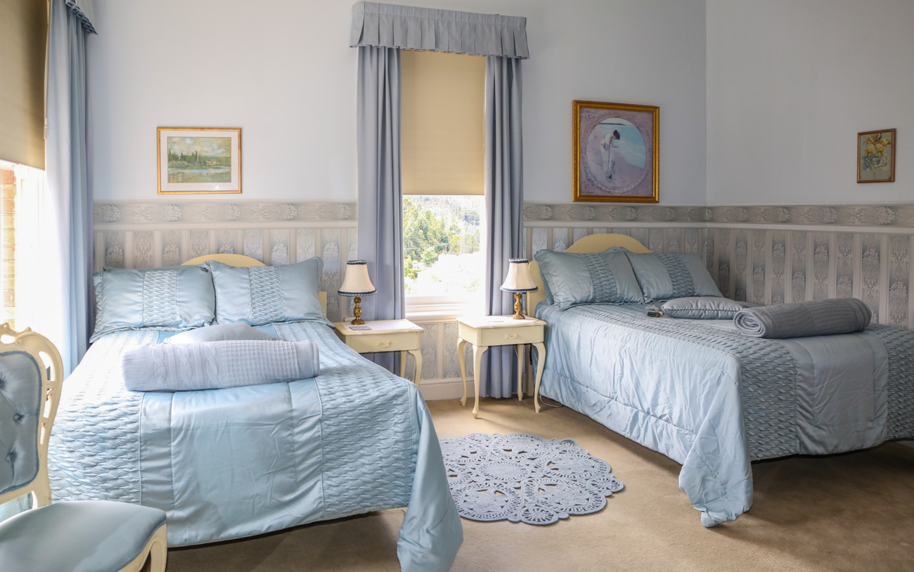 Pale Blue Room