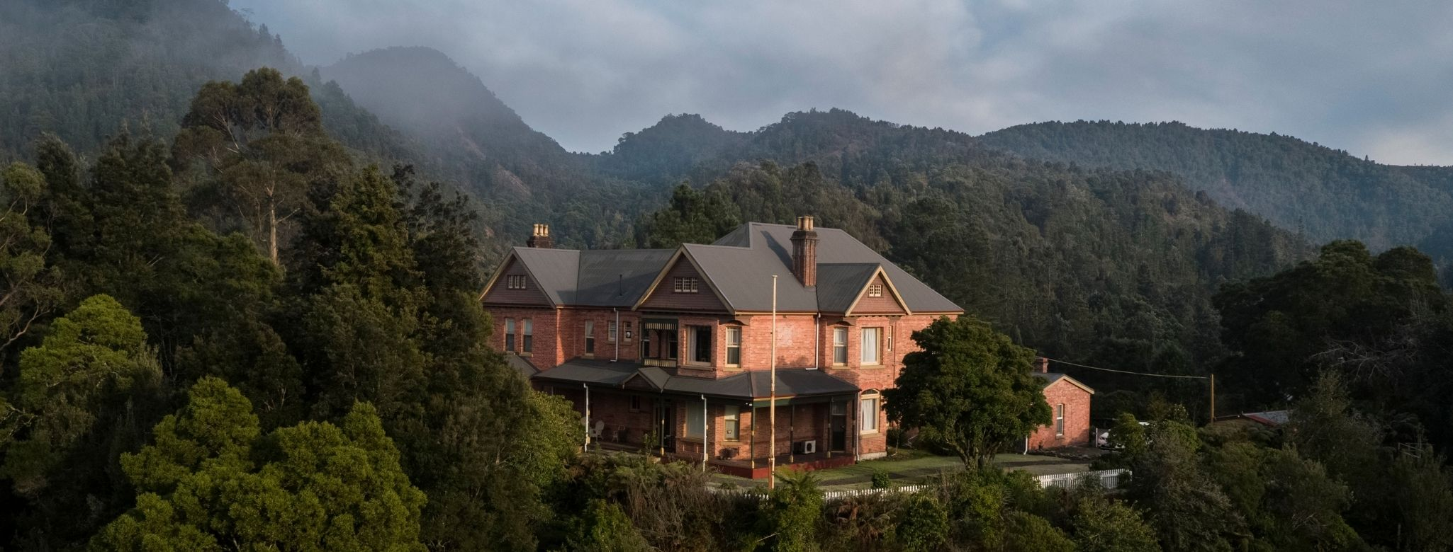 Queenstown's Penghana Bed And Breakfast Is One Of The Most Historic And Significant Mansions In Tasmania