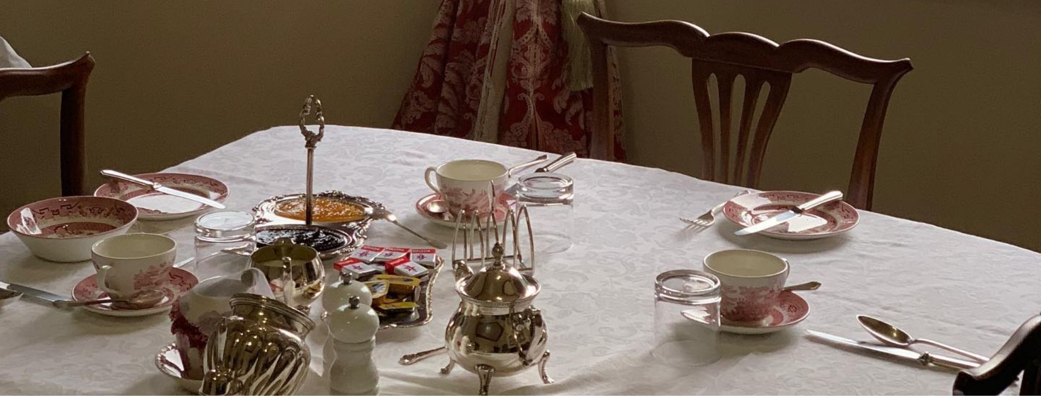 Enjoy Silver Service Breakfast Cooked To Order When You Stay At Penghana Bed And Breakfast In Queenstown, Tasmania