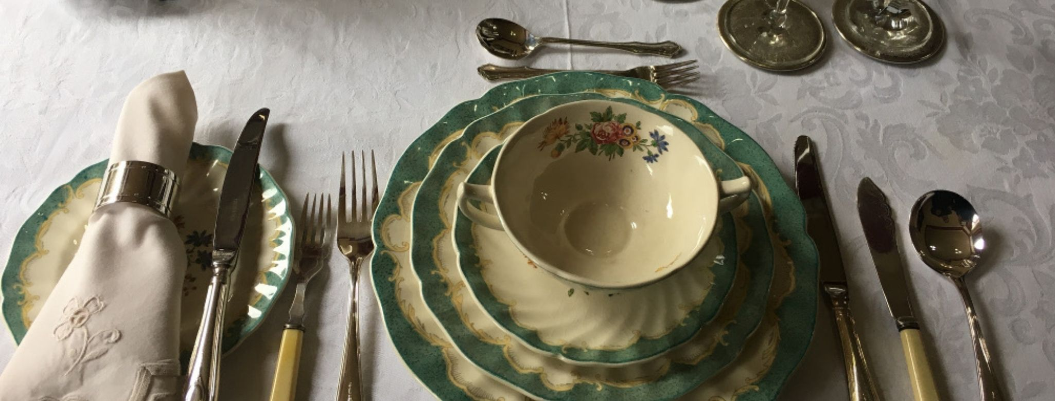 Traditional Fine China And Silverware Makes A Stay At Penghana Bed And Breakfast Accommodation In Queenstown Memorable