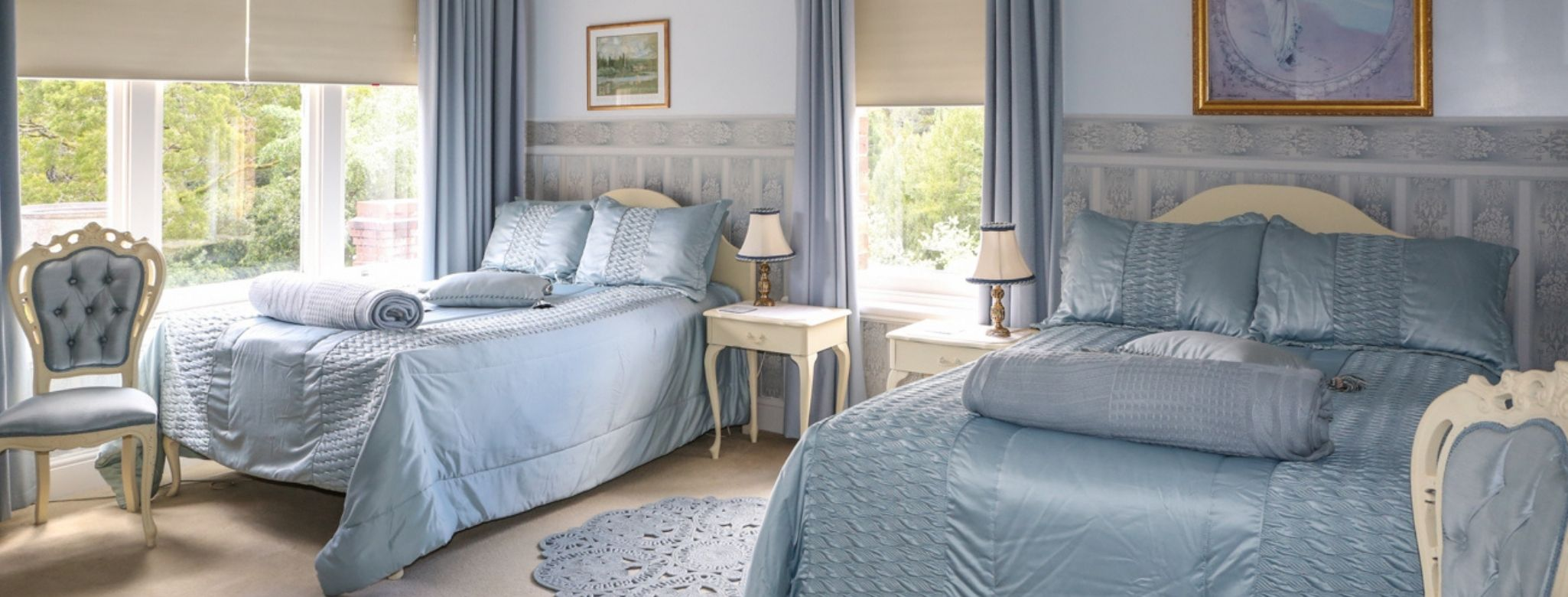 Lyell Suite At Penghana Bed And Breakfast In Queenstown Offers Twin Queen Bed Accommodation